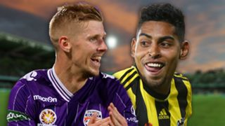 A-League.  Perth Glory v Wellington Phoenix