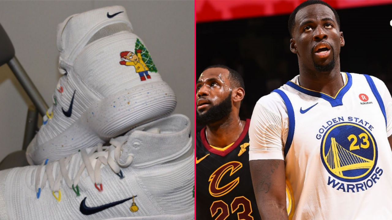 47381ac87d1 Draymond Green takes jab at LeBron James with Arthur-themed shoes ...