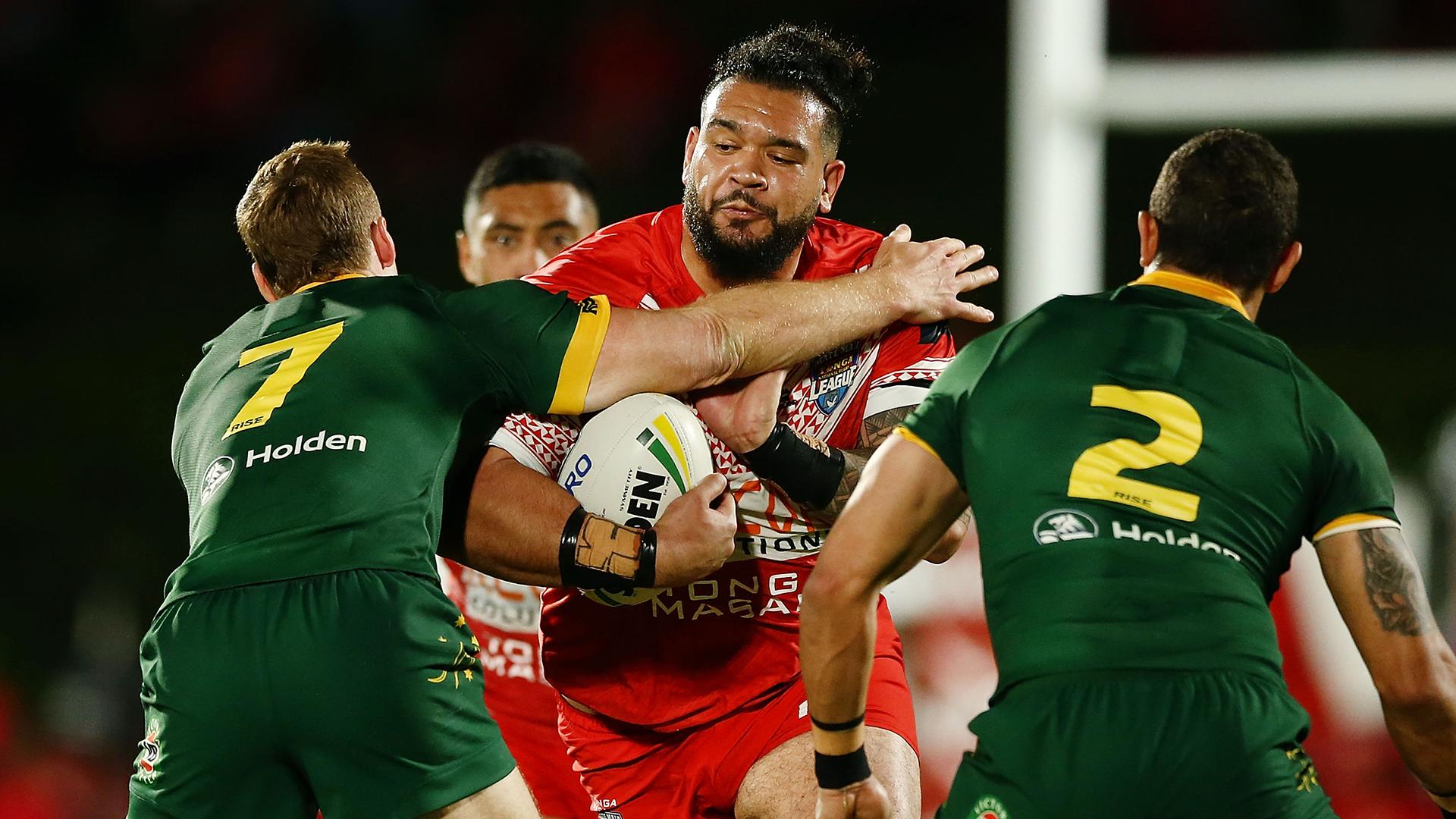 Australia vs Tonga Invitational: Rugby League fans want Ben Murdoch-Masila 'back in the NRL'
