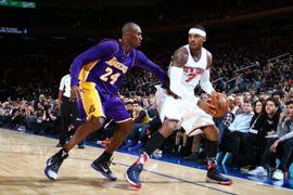 Carmelo Anthony & Kobe Bryant