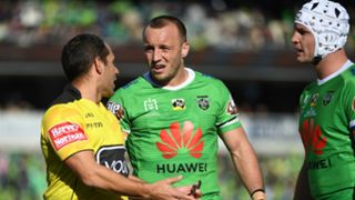 Canberra Raiders NRL referee