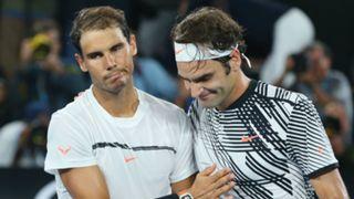 #Rafael Nadal Roger Federer