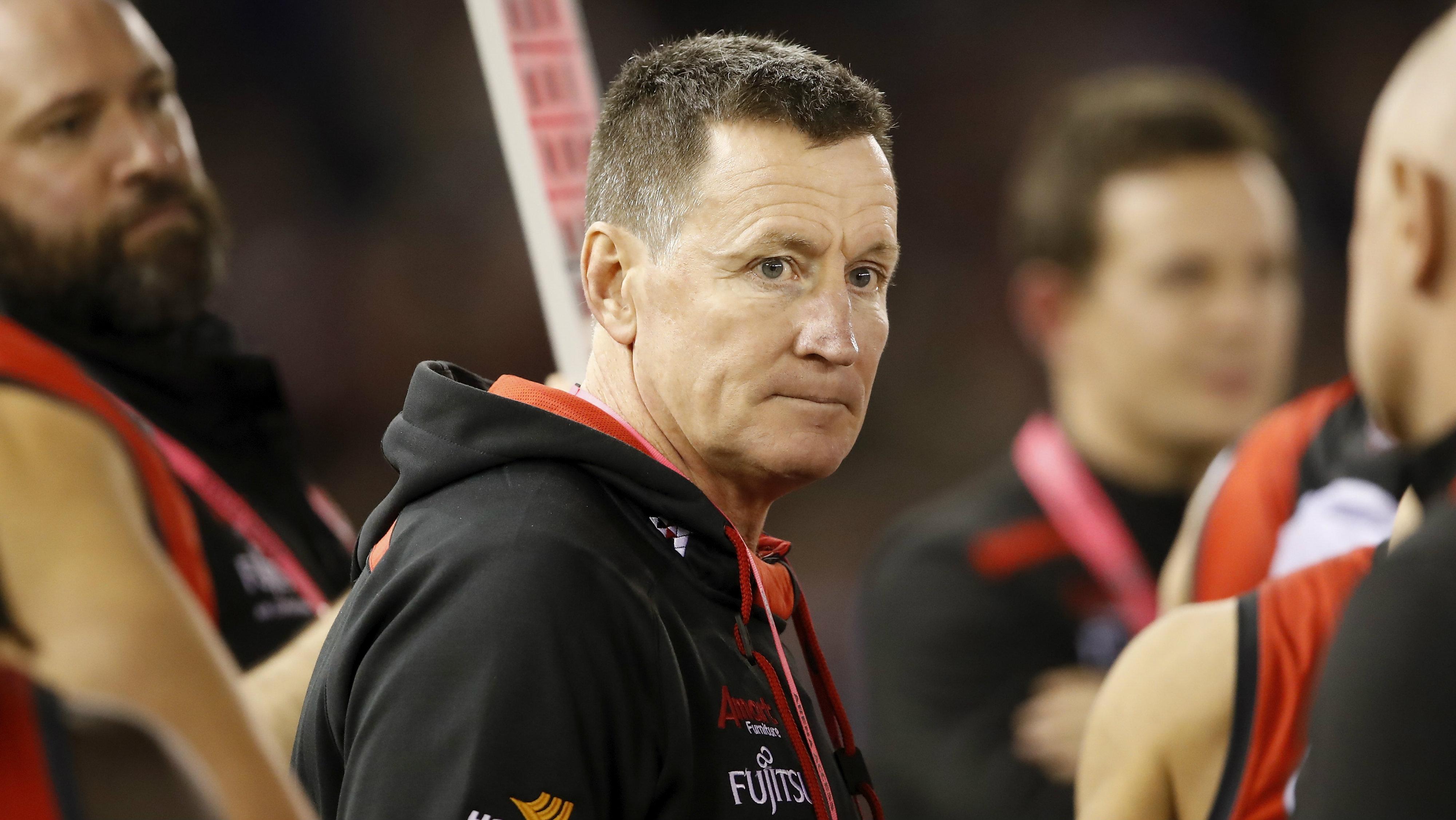 Essendon coach John Worsfold slams critics as 'pretty shallow'