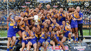 West Coast Eagles premiership Grand Final 2018 logo