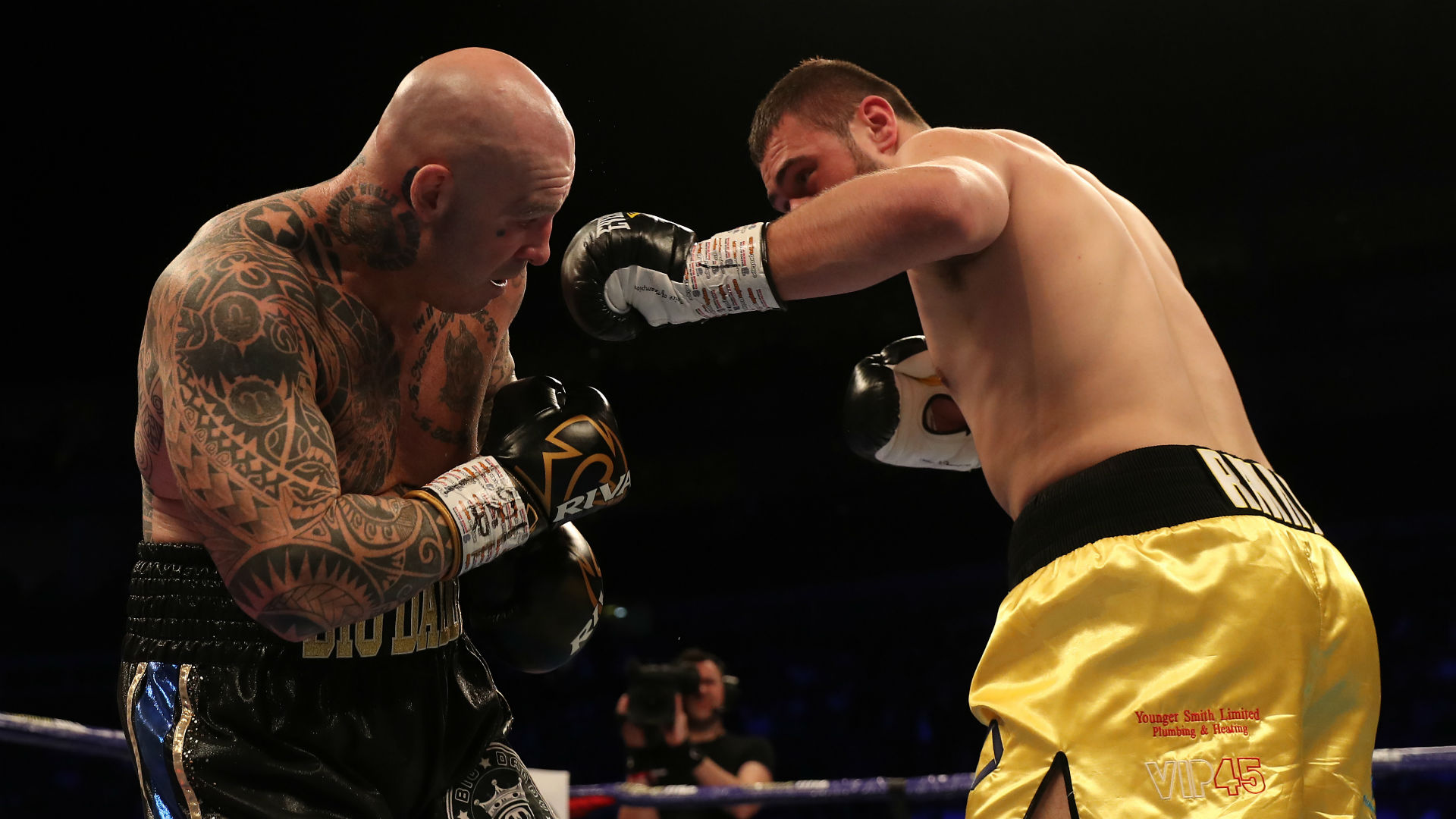 Lucas Browne knocked out by brutal David Allen body shot