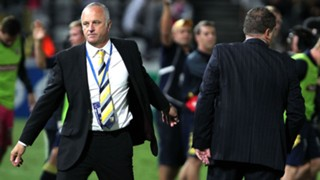 Graham Arnold and Ange Postecoglou