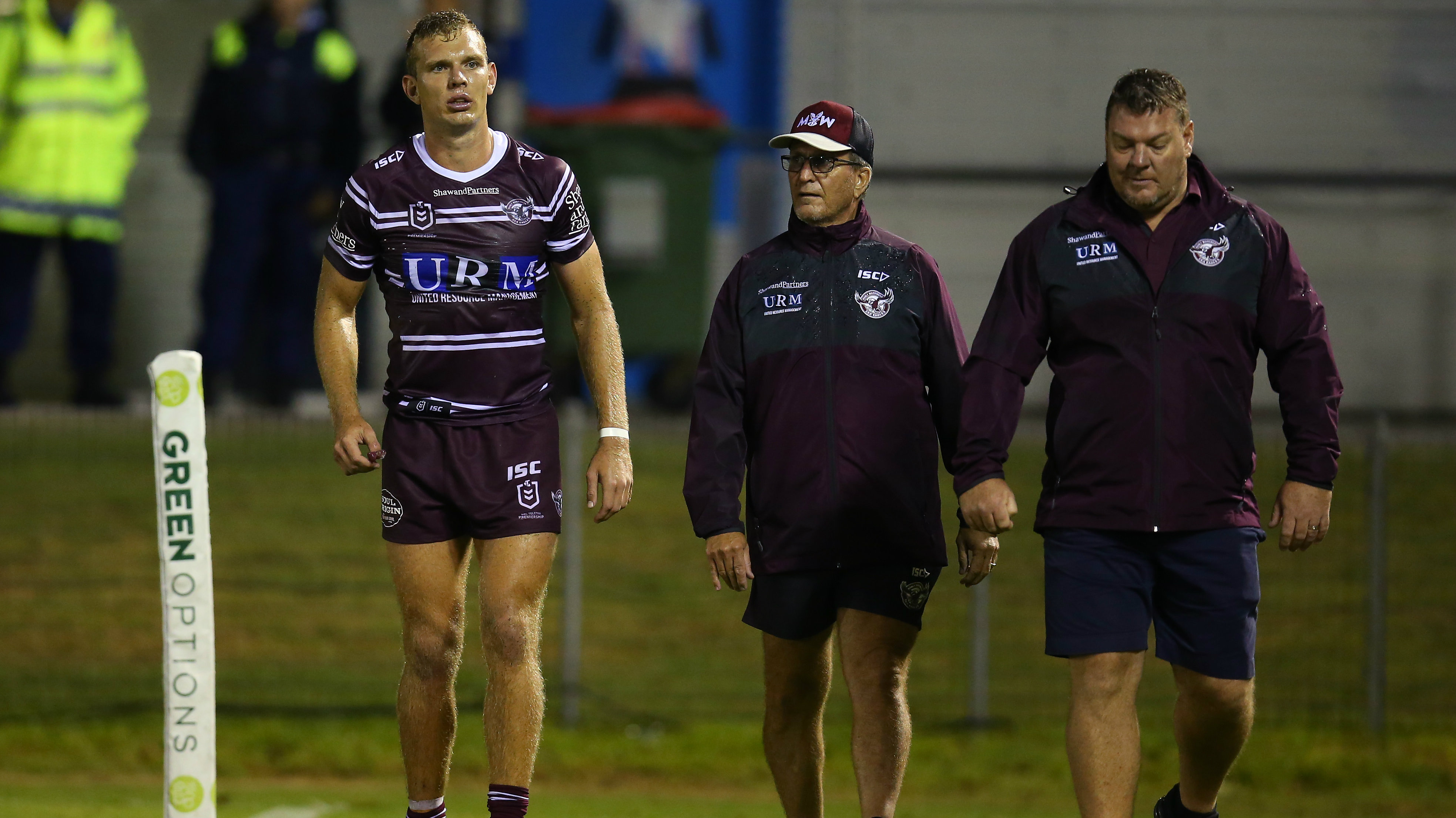 Tom Trbojevic injury: Manly Sea Eagles star injured in trial match