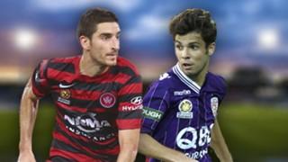 A-League.  Western Sydney Wanderers v Perth Glory