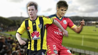 A-League. Wellington Phoenix v Adelaide United
