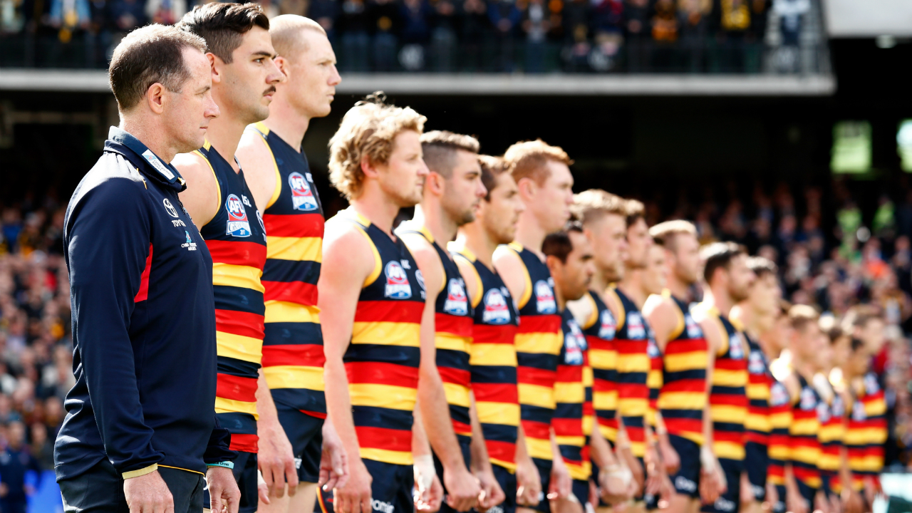 #Adelaide Crows grand final line up