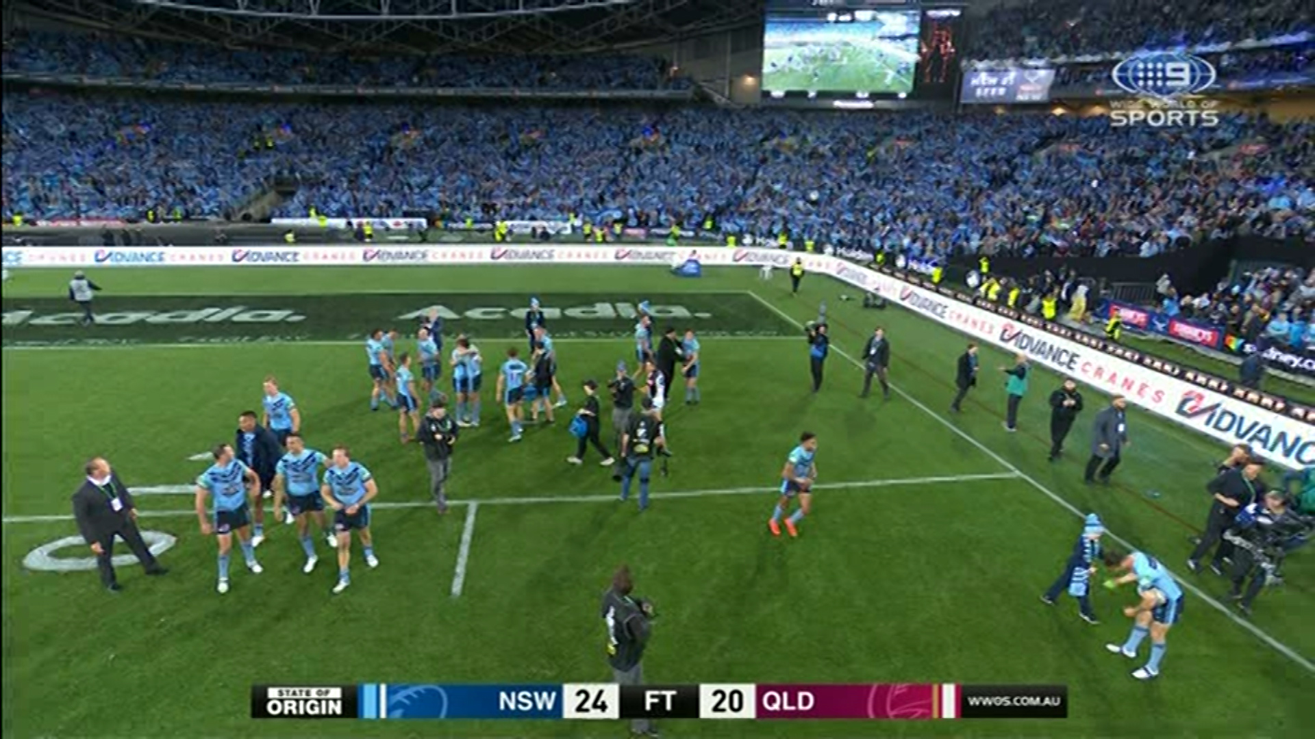 State of Origin: Brad Fittler feared James Tedesco try would be chalked off