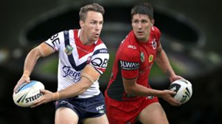 NRL. Roosters v Dragons