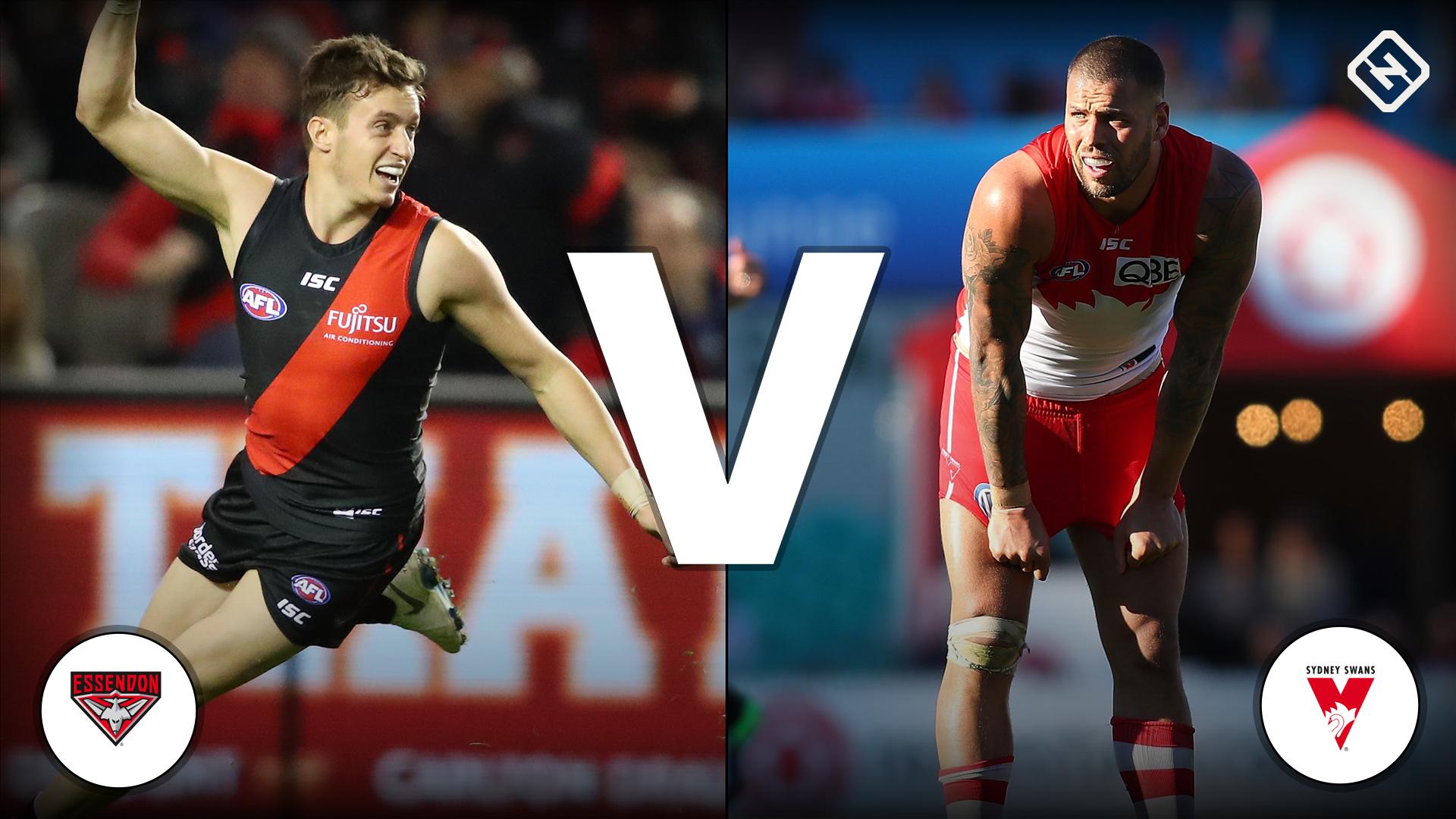 Essendon Bombers v Sydney Swans: Live blog, commentary ...