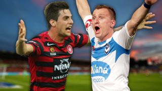 A-League. Western Sydney Wanderers v Melbourne Victory