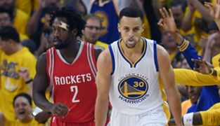 Steph Curry and Patrick Beverley