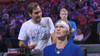 # Federer Zverev