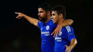 Diego Costa and Oscar