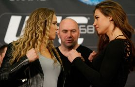 Tate vs Rousey