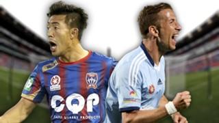 A-League.  Newcastle Jets v Sydney FC
