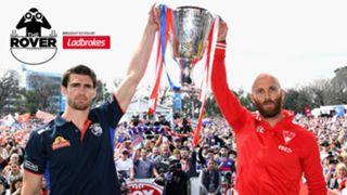 Sydney Swans Western Bulldogs premiership cup
