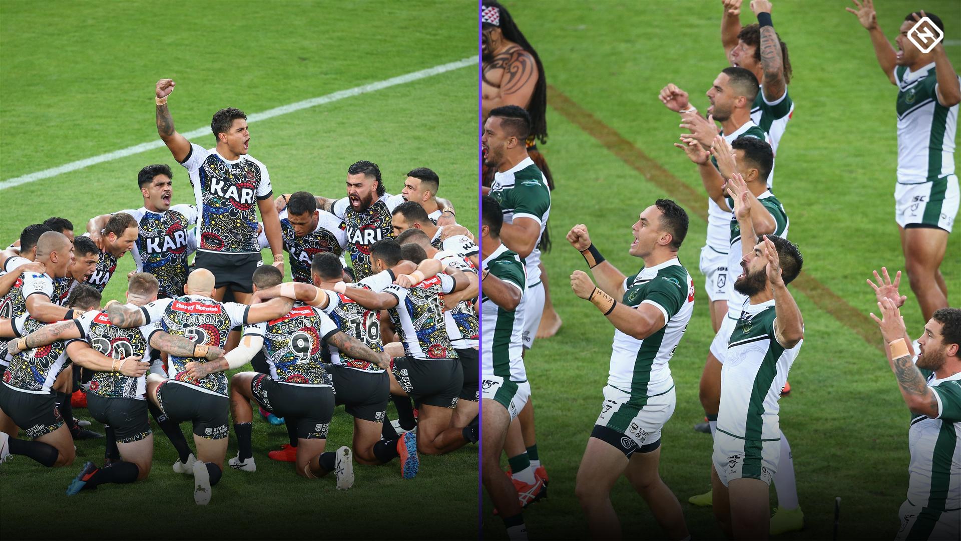 NRL All Stars: Indigenous war dance and Maori haka blow fans away