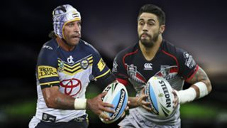 NRL. Cowboys v Warriors