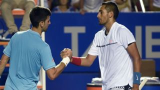 Nick Kyrgios Novak Djokovic#