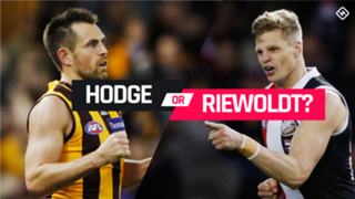 Hodge v Riewoldt pick 1