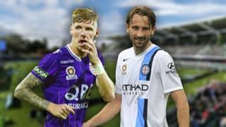 A-League. Perth Glory v Melbourne City