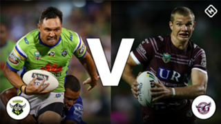 #Canberra Raiders #Manly Sea Eagles