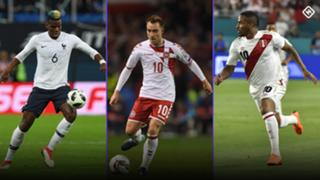 #World Cup Denmark Peru France
