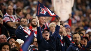 #Sydney Roosters fans