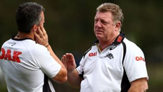 Ivan Cleary and Phil Gould