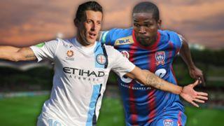 A-League. Melbourne City v Newcastle Jets
