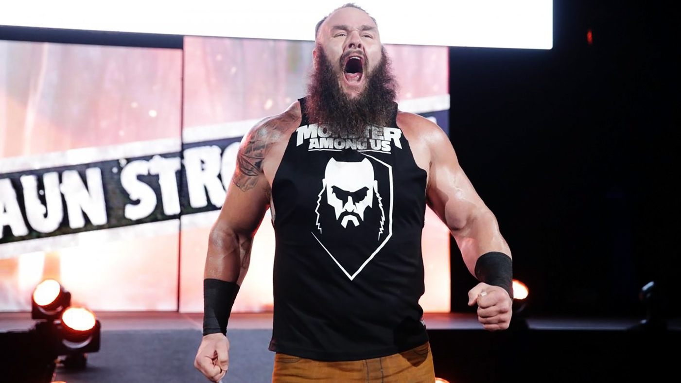 Braun Strowman announces four-year contract extension with WWE