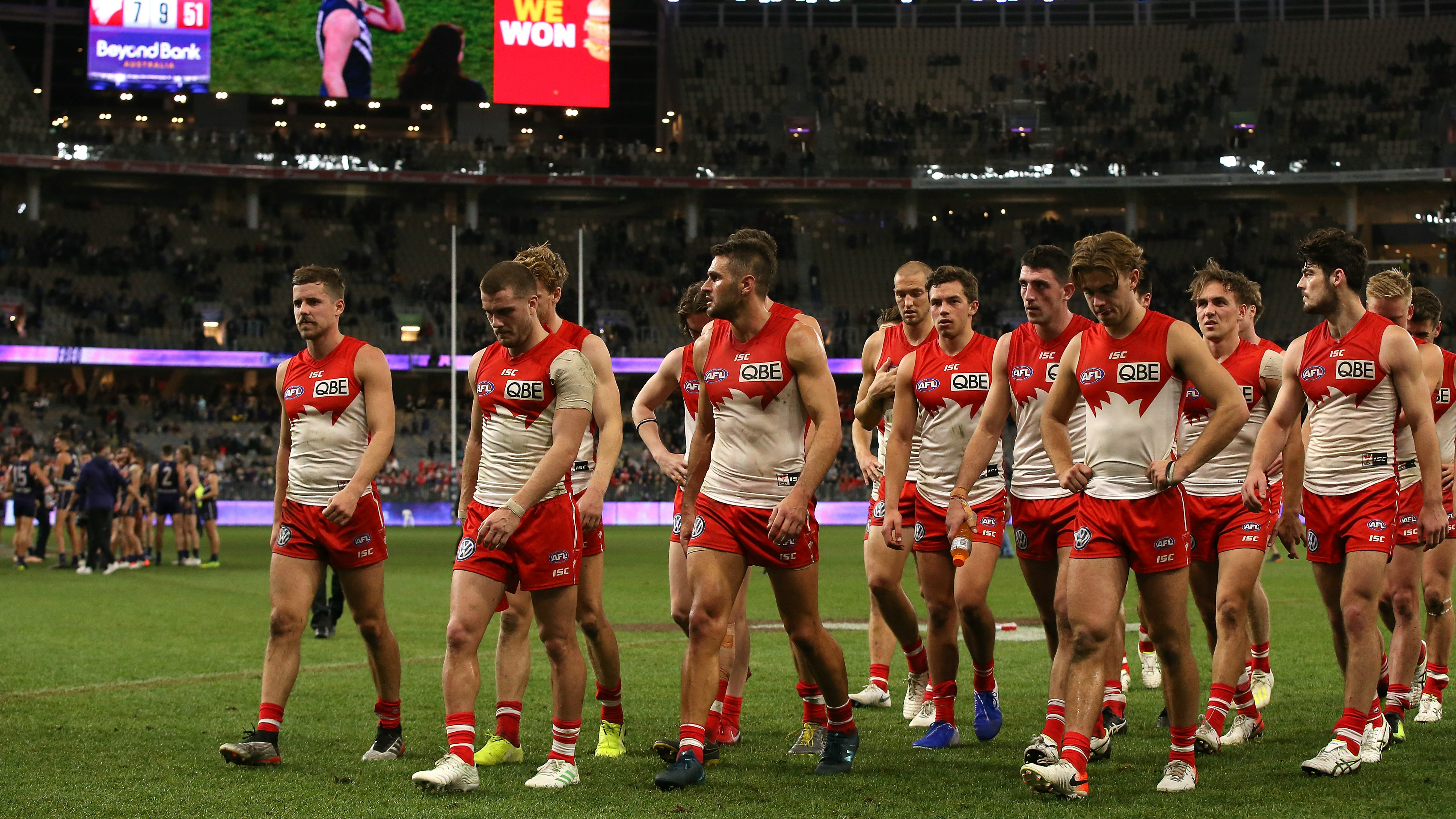 Sydney warn supporters against abusive comments after loss