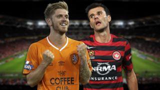 A-League.  Brisbane Roar v Western Sydney Wanderers.
