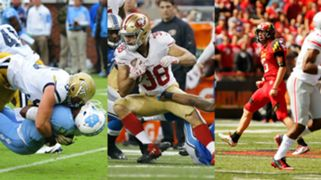 Adam Gotsis, Jarryd Hayne and Brad Craddock