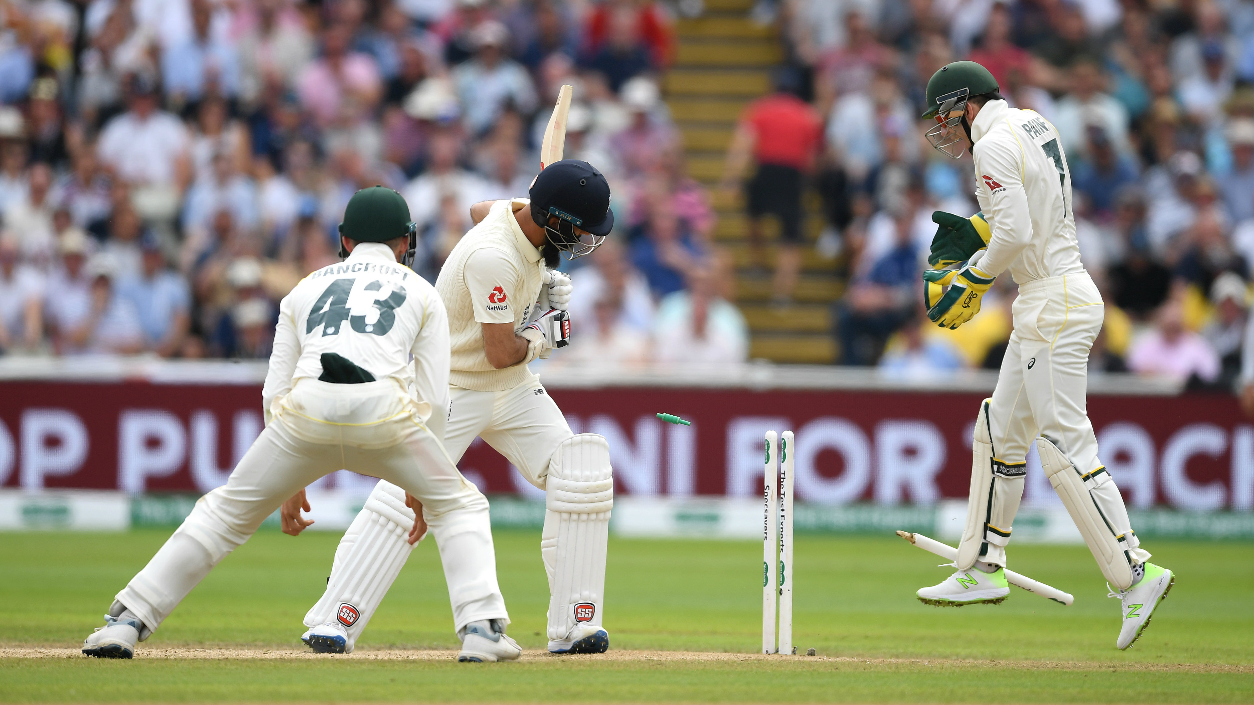Ashes 2019: Nathan Lyon's maintains astonishing record against Moeen Ali