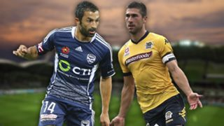 A-League.  Melbourne Victory v Central Coast Mariners