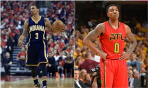 George Hill and Jeff Teague