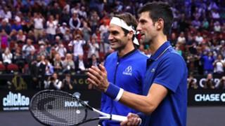 #Federer Djokovic
