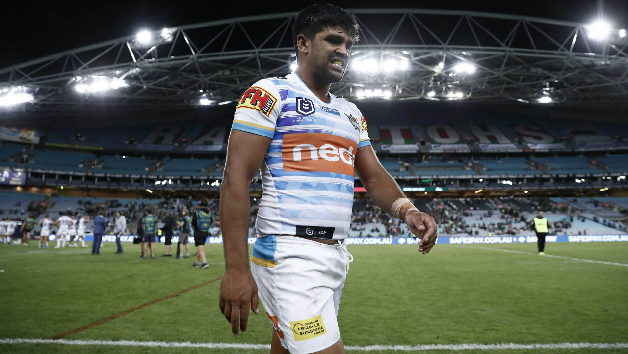 Vison of Tyrone Peachey training with Penrith isn't the former Origin star