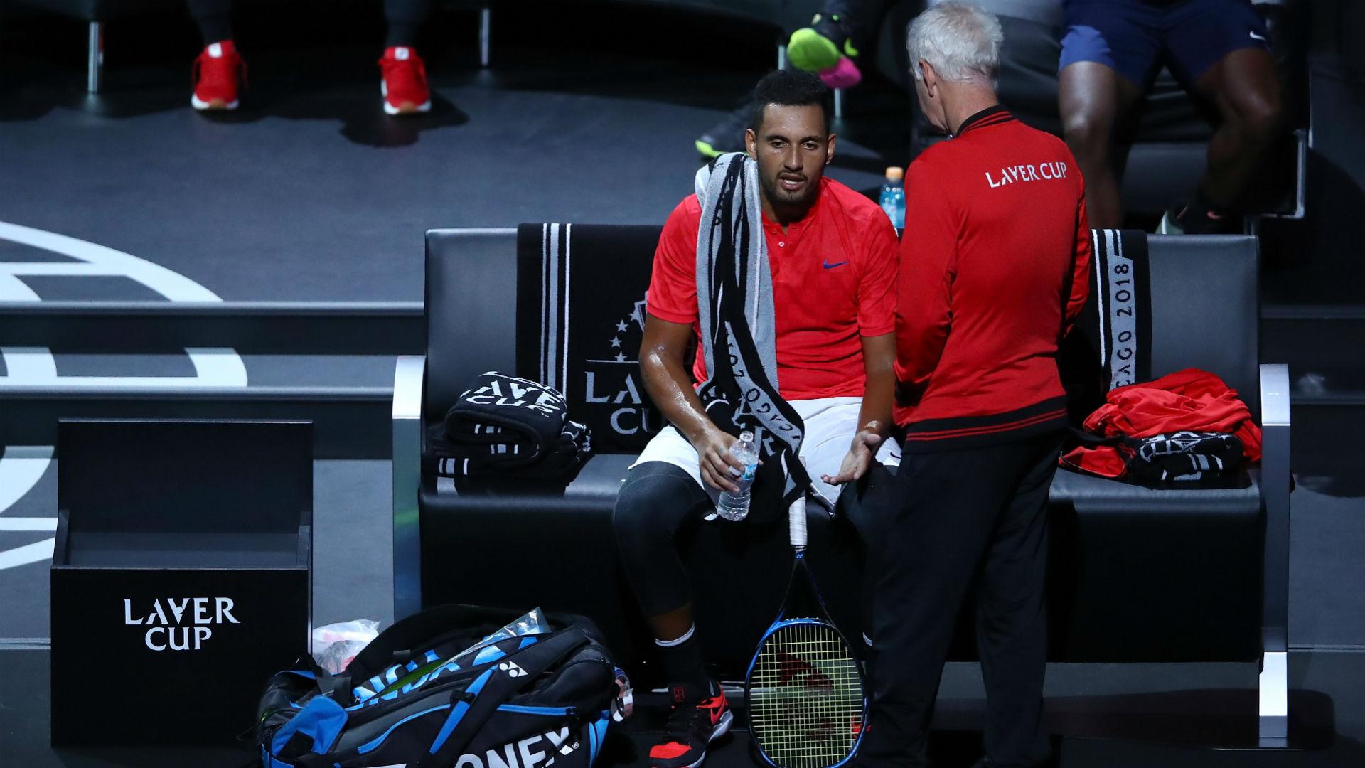 Laver Cup: Roger Federer smashes Nick Kyrgios
