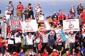 St George Illawarra Dragons fans