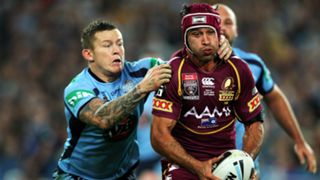Todd Carney and Johnathan Thurston
