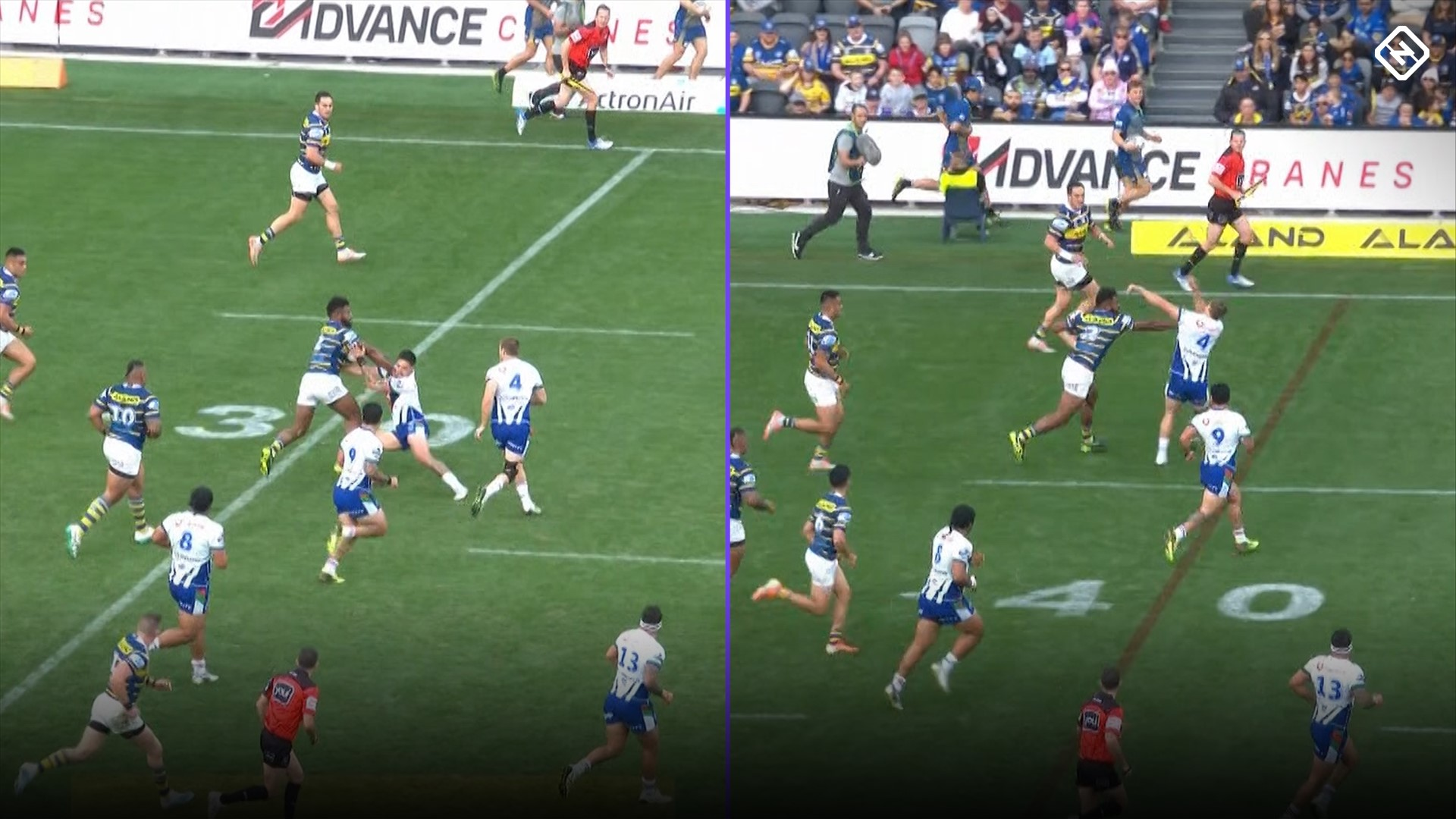 Eels v Warriors: Barnstorming run from Maika Sivo leads to incredible team try