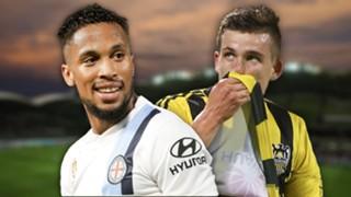 A-League.  Melbourne City v Wellington Phoenix