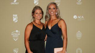 Ashleigh Gardner and Bridget Patterson