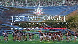 #Anzac day AFL